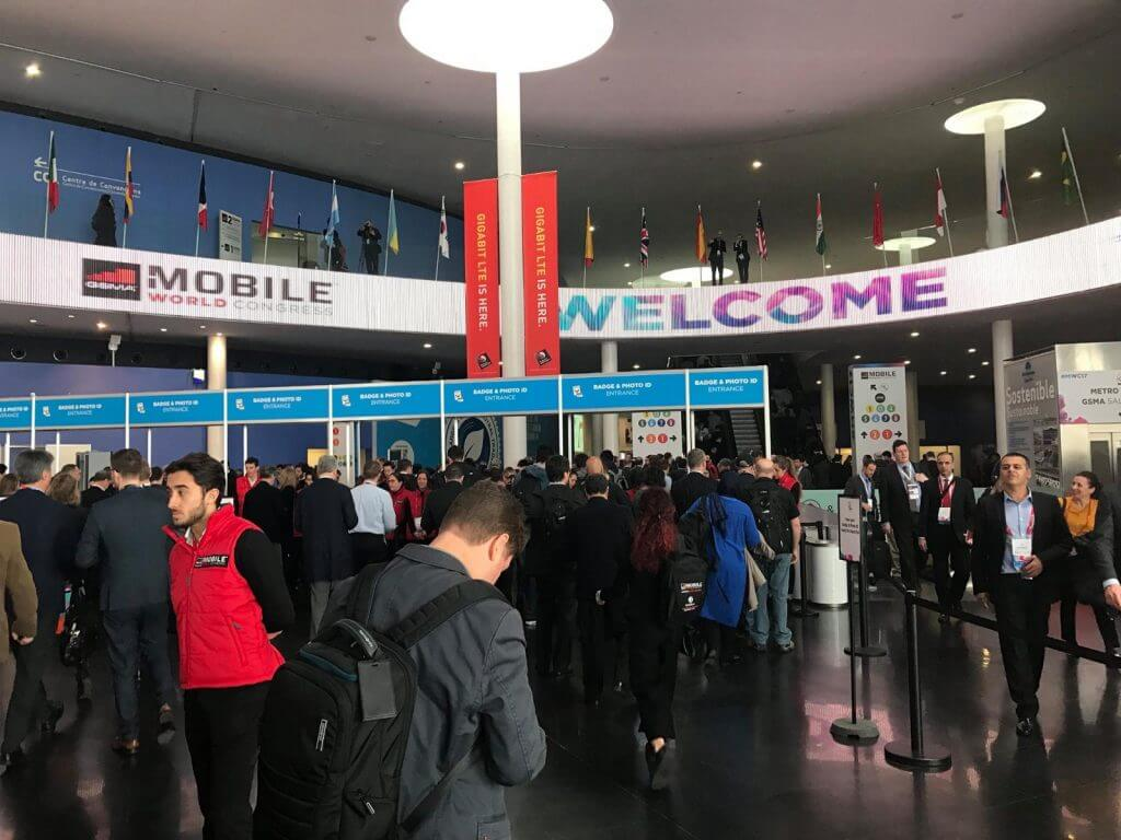 Registration at MWC 2017