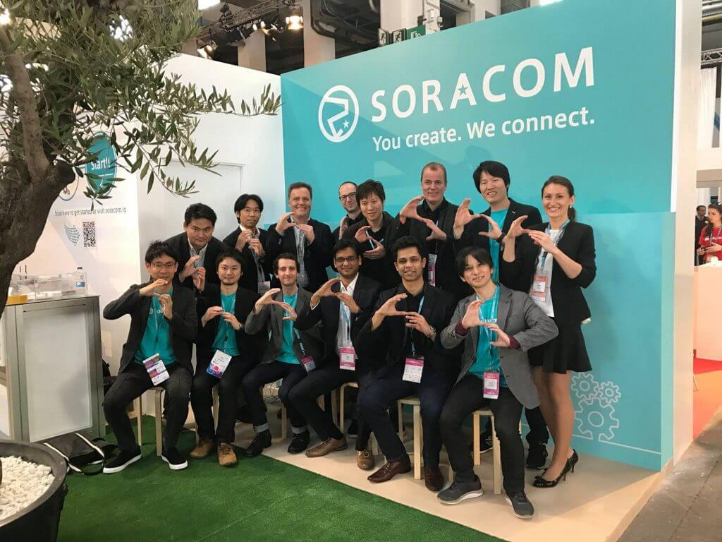 SORACOM Global Team
