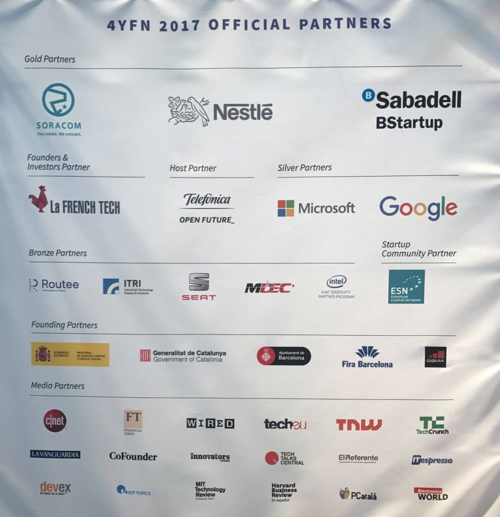SORACOM is a Gold Partner at 4YFN.