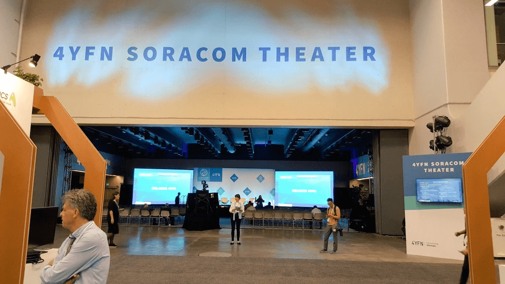 4YFN Soracom Theater