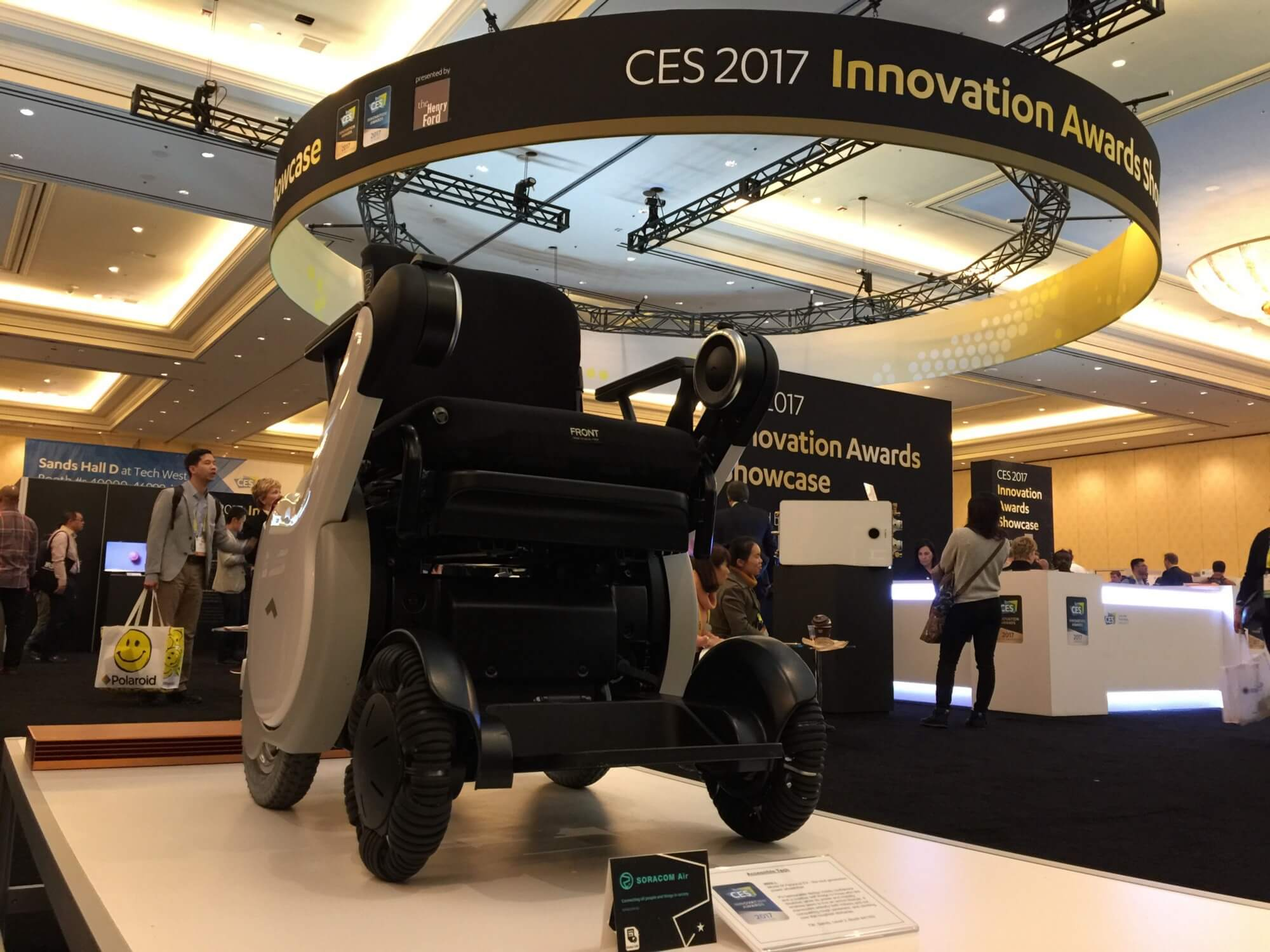 WHILL — The electric connected wheelchair