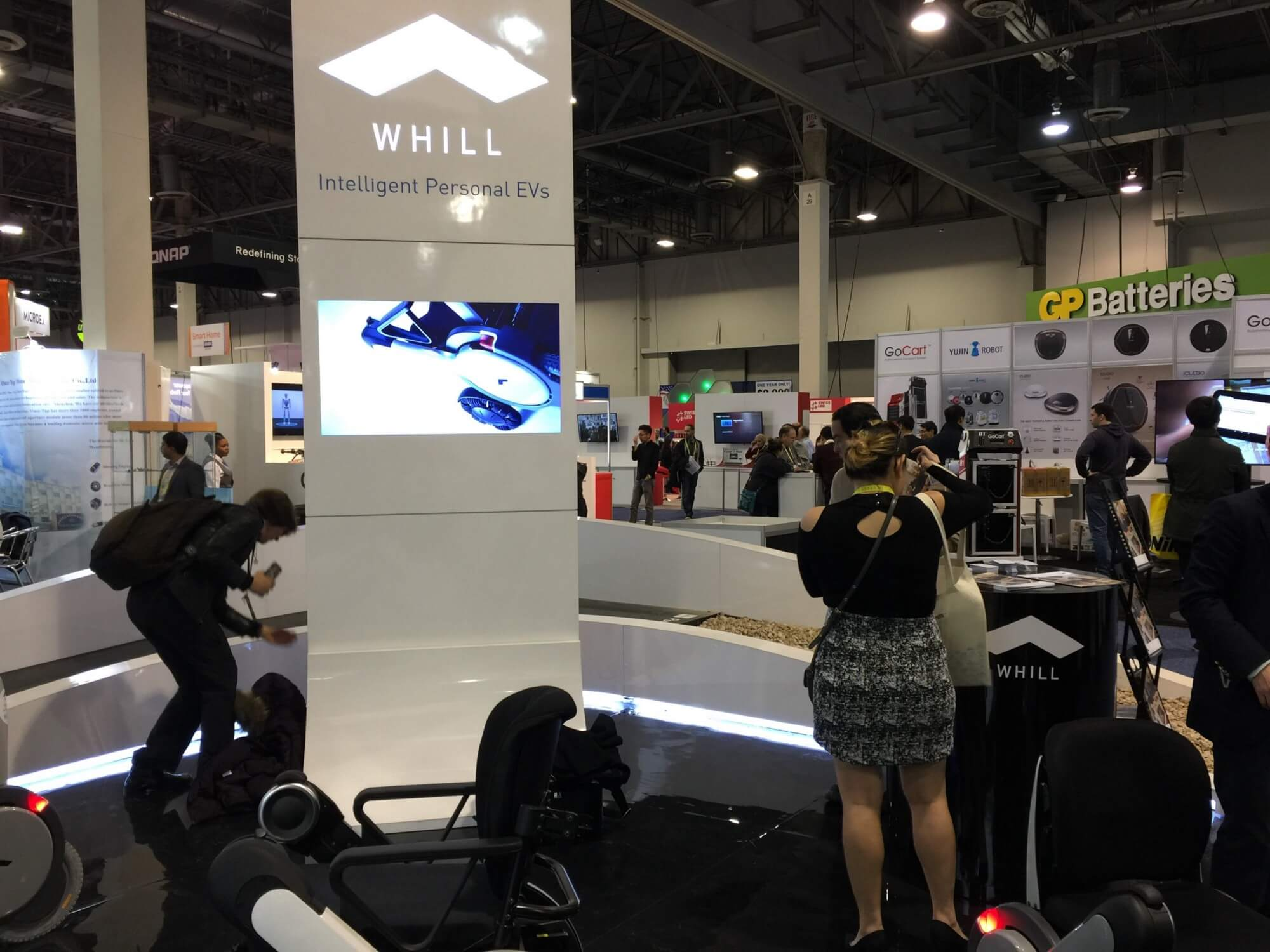 WHILL Booth