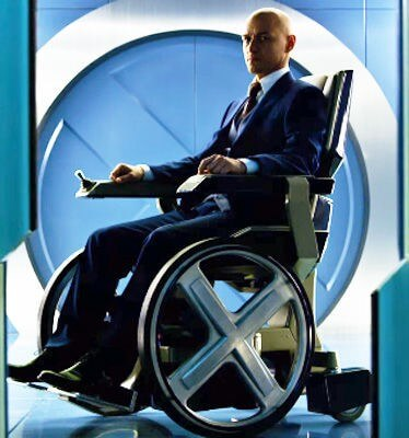 Reference; Professor X Wheelchair
