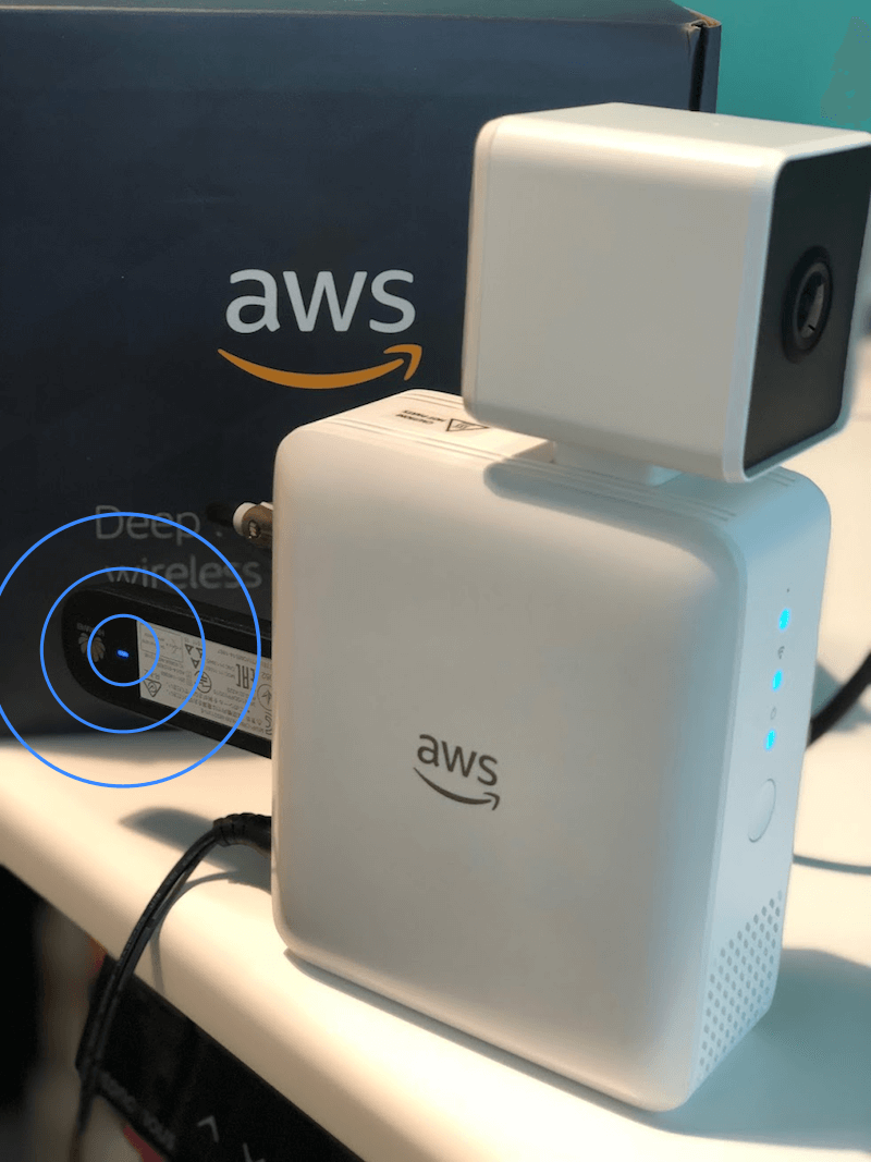 AWS DeepLens with active 3G connection!