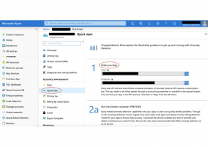 Grabbing Subscription Key and Endpoint URI from Azure Portal