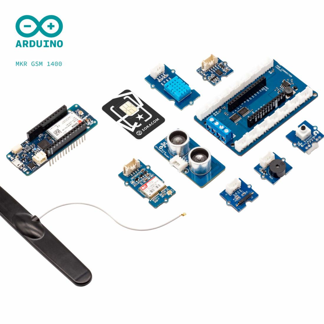 Soracom 2G/3G IoT Starter Kit (powered by Arduino)