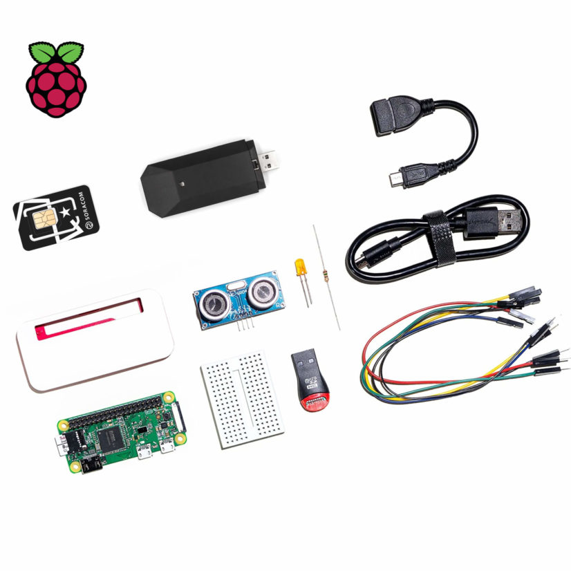 Soracom IoT Starter Kit (powered by Raspberry Pi Zero)