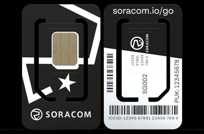 Soracom IoT ecoSIM (2FF, 3FF & 4FF)