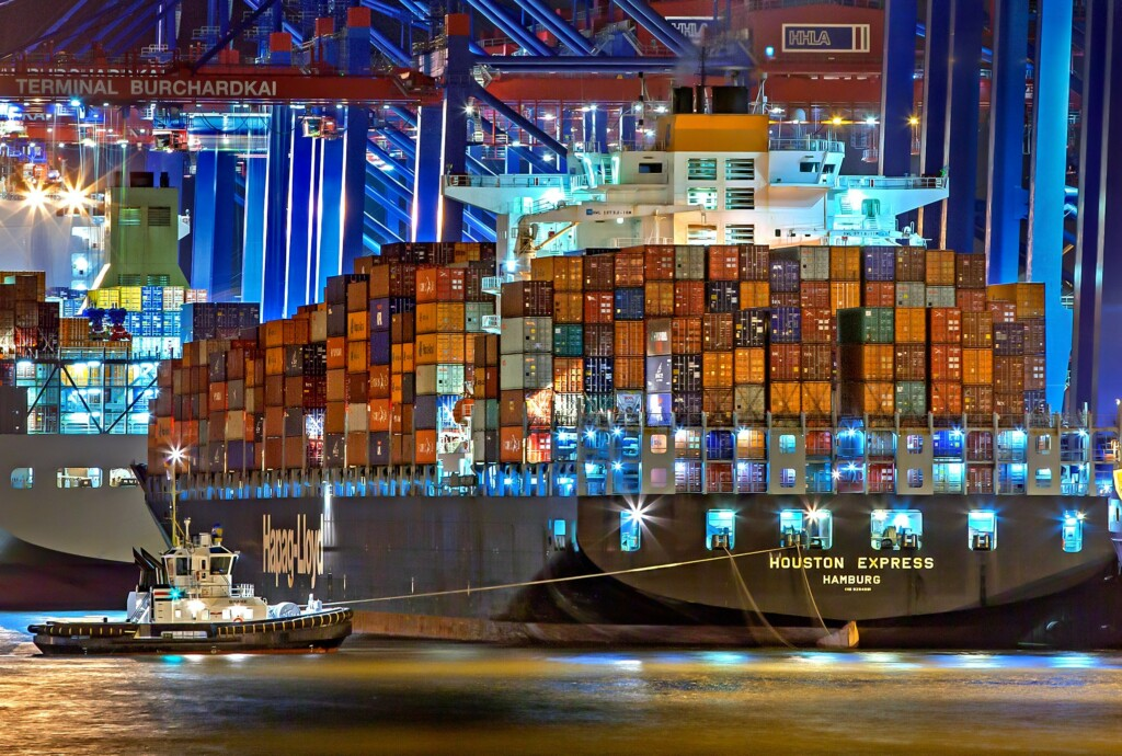Shipping, Photo by Julius Silver
