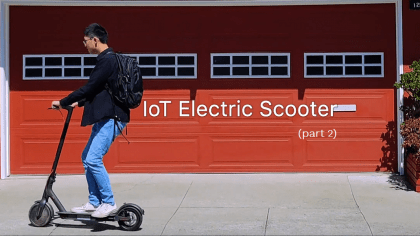 How Hard is it to Visualize IoT Escooter Data Flow?