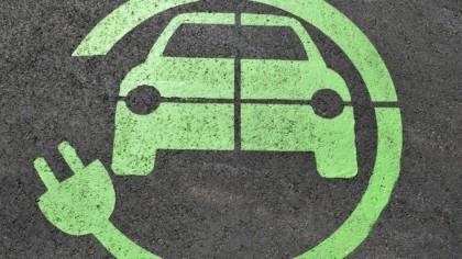 EV charging symbol