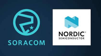 Soracom and Nordic Semi gloss