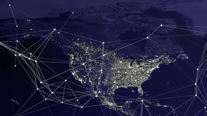network map of north america