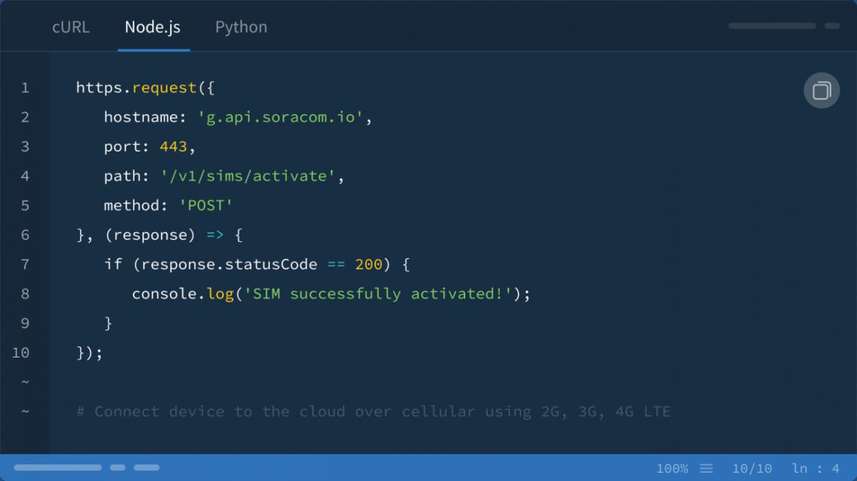 Soracom API