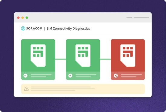 Run SIM connectivity diagnostics