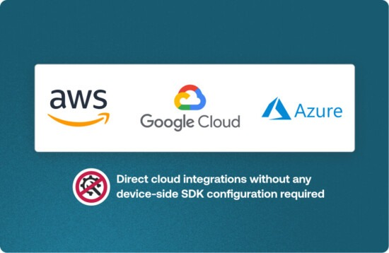 Send data to the cloud
