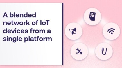 Managing a Blended network of IoT devices from a single platform