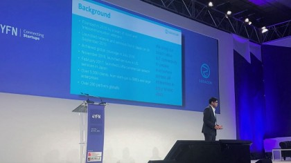 Parag Mittal, Chief Commercial Officer of SORACOM at key note